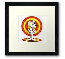 Dead Mouse Hero Framed Print