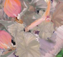 Budding Begonia Sticker