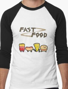 Fast Food Men's Baseball ¾ T-Shirt