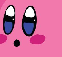 Kirby with Princess Peach Hat Sticker