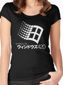 Windows 420 Tokyo Women's Fitted Scoop T-Shirt