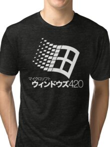 Windows 420 Tokyo Tri-blend T-Shirt