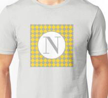 N Checkard Unisex T-Shirt