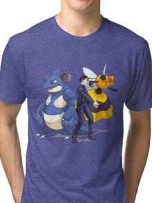 Nidoking Pokemon Detective Tri-blend T-Shirt