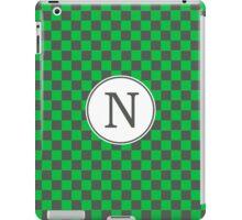 N Checkard II iPad Case/Skin