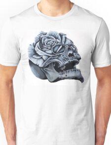 Skull Rose Morph Unisex T-Shirt