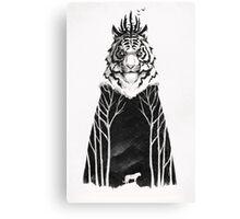 The Siberian King Canvas Print