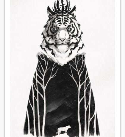 The Siberian King Sticker