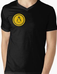 Tux Logo Mens V-Neck T-Shirt