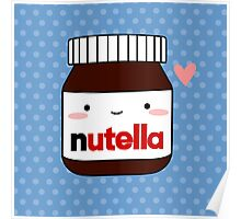 Cute Nutella jar Poster