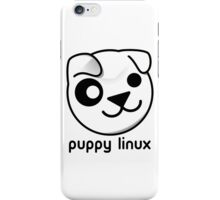puppy linux iPhone Case/Skin