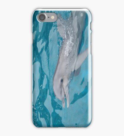 PLAYFUL BABY DOLPHIN SEAWORLD iPhone Case/Skin