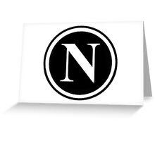 N1 Greeting Card