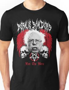 FEEL THE BERN Heavy Metal Bernie Sanders Shirt Unisex T-Shirt