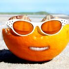 Beached Orange by Gravityx9