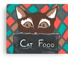 Brownie The Cat Canvas Print