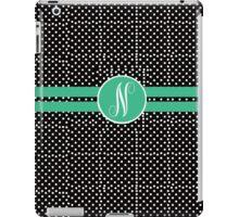 N polks Dot iPad Case/Skin