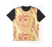 """Owl"" Graphic T-Shirt"