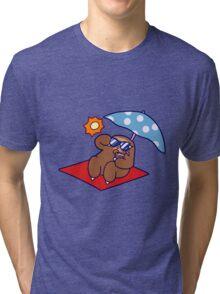 Summer Sloth Tri-blend T-Shirt
