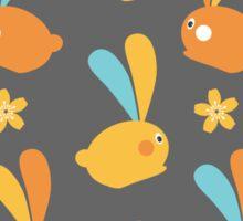 Easter Modern Twist Pattern Sticker