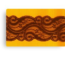 Brownie Lace Canvas Print