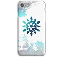 White Snowflake iPhone Case/Skin