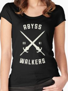 ABYSS WALKER Women's Fitted Scoop T-Shirt