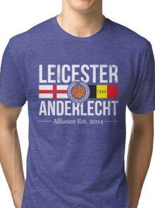 Leicester City and Anderlecht Alliance Tri-blend T-Shirt