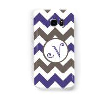 Purple Chevron N Samsung Galaxy Case/Skin