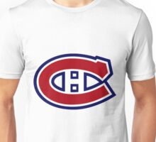 Canadiens Logo Unisex T-Shirt