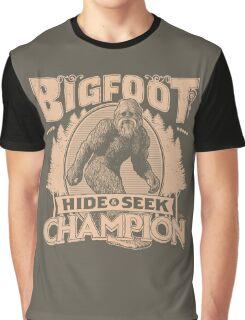 Bigfoot - Hide & Seek Champion Graphic T-Shirt