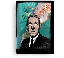 HP Lovecraft Canvas Print