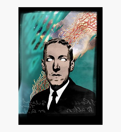HP Lovecraft Photographic Print