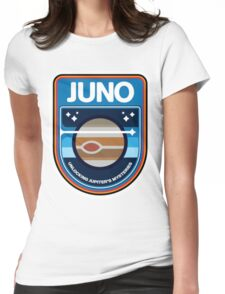 JUNO New Frontiers Logo Womens Fitted T-Shirt