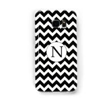 N Black Chevron Samsung Galaxy Case/Skin