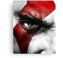 God of War Kratos Canvas Print