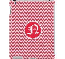 Red N Chevron iPad Case/Skin