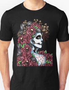 Day of the Dead Red Full T-Shirt