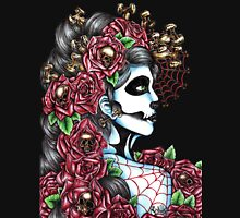 Day of the Dead Red Full Unisex T-Shirt