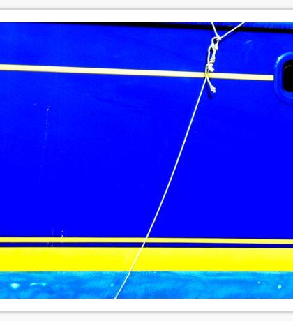 Greek boat Sticker