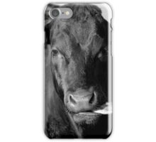 What a cow! iPhone Case/Skin