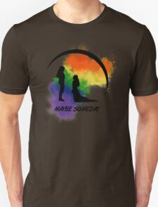 Clexa - Maybe Someday In Color Unisex T-Shirt