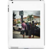 Cool Kids in Old Town iPad Case/Skin