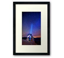 See The Stars Framed Print