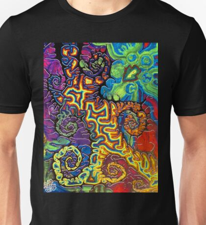the three finger shuffle Unisex T-Shirt
