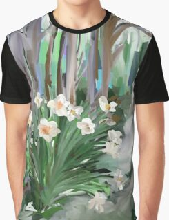 Narcissus in the Forest Graphic T-Shirt