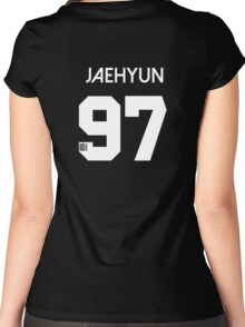 Jaehyun NCT u Member Jersey Number Women's Fitted Scoop T-Shirt