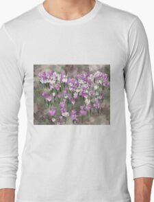 Crocuses Long Sleeve T-Shirt