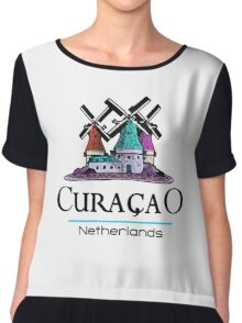 Curacao, The Netherlands Antilles Chiffon Top