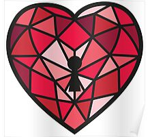 Jewel Heart Poster